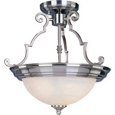 Westshire 3 - Light Semi - Flush Mount