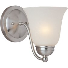 <strong>Maxim Lighting</strong> Basix Es 1 Light Wall Sconce