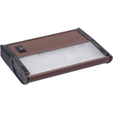 "Wellview M X - X120 7"" Under Cabinet Light in Metalic Bronze"