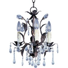 Grove 3 Light  Candle Chandelier