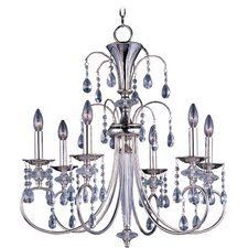 Bradford 6 - Light Single - Tier Chandelier