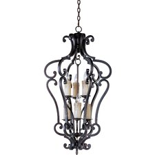 <strong>Maxim Lighting</strong> Empress 6 Light Foyer Pendant