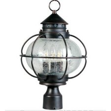 Portsmouth 3 Light Outdoor Post Lantern