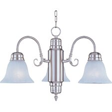 Builder Basics 3 Light Mini Chandelier