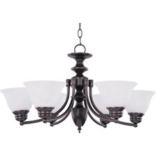 Tacet 6 - Light Single - Tier Chandelier