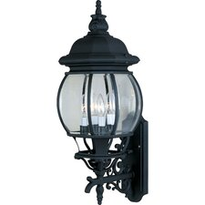 Crown Hill 4 Light Outdoor Wall Sconce