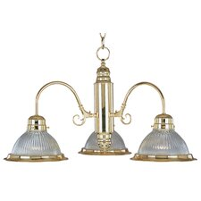 <strong>Maxim Lighting</strong> Builder Basics 3 Light Mini Chandelier