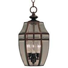 Canterbury 3 Light Outdoor Hanging Lantern