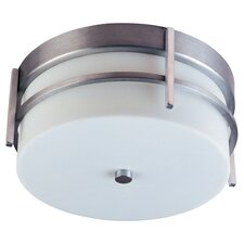 Luna 2-Light Outdoor Ceiling Mount