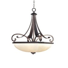 <strong>Maxim Lighting</strong> Oak Harbor 4 Light Inverted Pendant