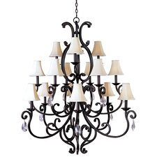 <strong>Maxim Lighting</strong> Richmond 15 Light Candle Chandelier