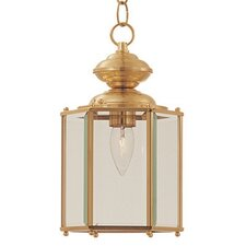 Builder Brass 1 Light Outdoor Shiny Hanging Lantern