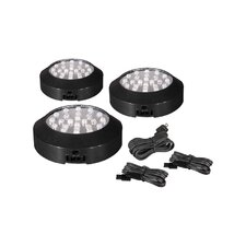 Wellview M X - LD LED Under Cabinet Kit in Black