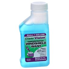 <strong>Kafko International Ltd</strong> 4 Oz. Clear Vision Concentrated Windshield Wash