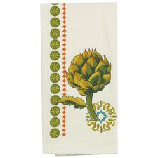 Garden Veggies Design Flower Sack Kitchen Towel