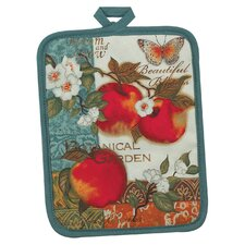 Botanical Apples Pocket Mitt Pot Holder
