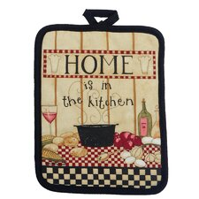 Home Pocket Mitt Pot Holder (Set of 6)