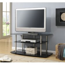 "<strong>Convenience Concepts</strong> Classic Glass 42"" TV Stand"