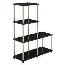 "<strong>Convenience Concepts</strong> Multi ""L"" Shaped 41.75"" Bookcase"