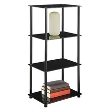 "<strong>Convenience Concepts</strong> Midnight Tower 39"" Bookcase"