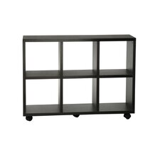 "Northfield Rolling 34.5"" Bookcase"