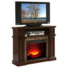 "Designs2Go 46"" TV Stand with Electric Fireplace"