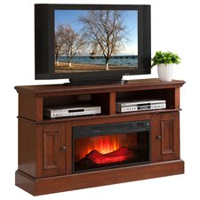 "Designs2Go 54"" TV Stand with Electric Fireplace"