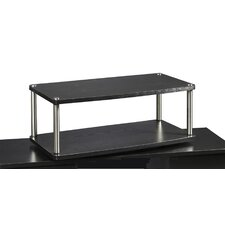 <strong>Convenience Concepts</strong> Designs 2 Go XL Two Tier TV Swivel Board