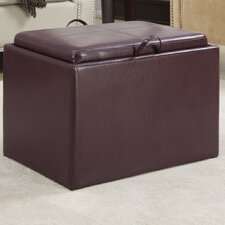 Designs 4 Comfort Accent Storage Ottoman