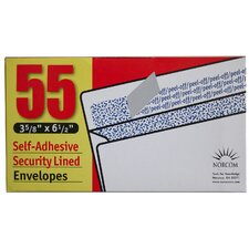 55 Count Security Lined Envelopes