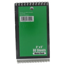 Memo Notebook (Set of 12)