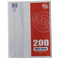 <strong>Norcom Inc</strong> 200 Count Wide Ruled Looseleaf Paper