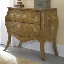 Hidden Treasures 2 Drawer Bombe Chest