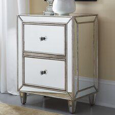 Hidden Treasures Mirror 2 Drawer Chest