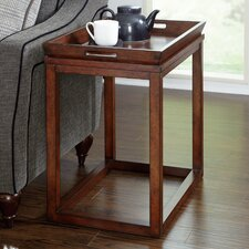 Modern Lodge End Table