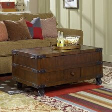 Hidden Treasures Coffee Table with Lift Top
