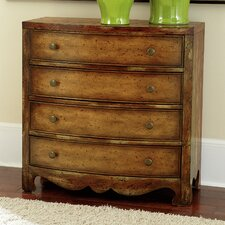 Hidden Treasures 4 Drawer Chest
