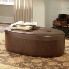 Hidden Treasures Oval Cocktail Ottoman