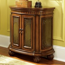 Hidden Treasures Demilune Cabinet