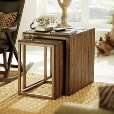 <strong>Hammary</strong> Flashback 2 Piece Nesting Tables