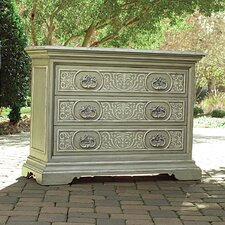 Jessica McClintock 3 Drawer Painted Chest