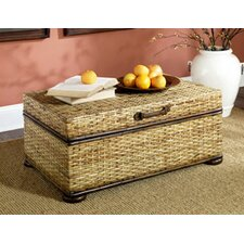 Hidden Treasures Trunk Coffee Table with Lift-Top