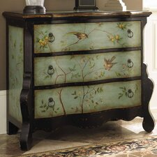 Hidden Treasures 3 Drawer Accent Chest