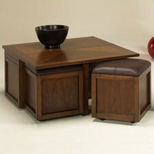 <strong>Hammary</strong> Nuance Coffee Table Set with Ottoman