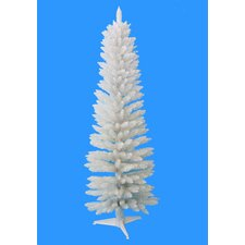 5' White Pencil Artificial Christmas Tree