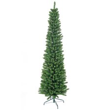 7' Green Pencil Artificial Christmas Tree