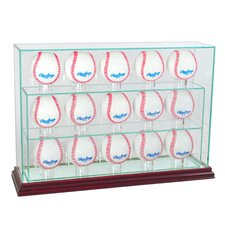 <strong>Perfect Cases</strong> 15 Baseball Upright Display Case