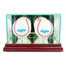 <strong>Perfect Cases</strong> Double Baseball Display Case