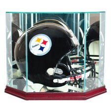 Octagon Full Size Football Helmet Display Case