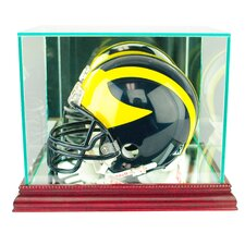 Mini Football Helmet Display Case